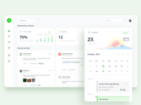 Office Management tool: Dashboard