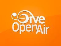 Give Open Air Logo design