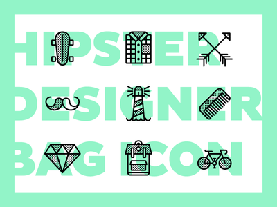DESIGNER BAG - Free Icon