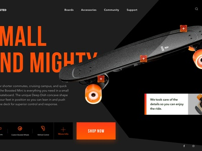 Product Page restyle ecommerce shopping product style cart colors skate favorite webdesign ui ux