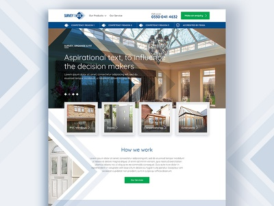 Survey To Site Homepage homepage blue design wip web design web digital ui ux concept
