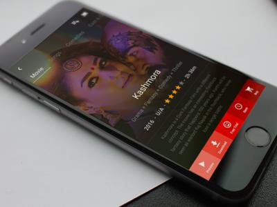 Movie Screen - Mobile App UI