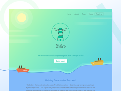 Landing Page - Concept
