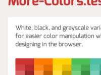 More-Colors.Less