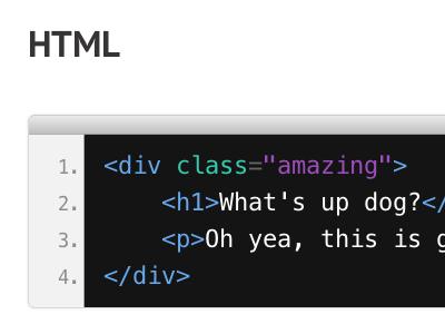 Prettify styles css html code design browser window prettify coda seestyles