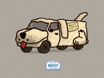 1984 Sheepdog van illustration playoffs dumb and dumber shaggin wagon