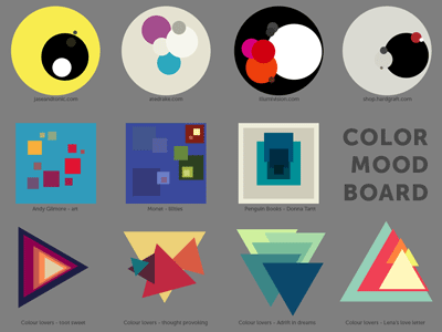 Color And Mood color mood board for redesignjason robb - dribbble