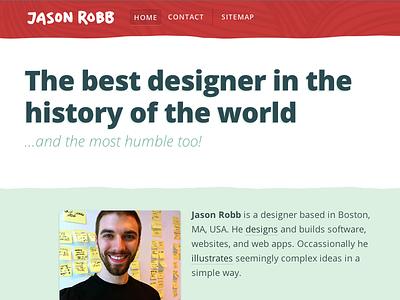 Fun with headlines jr-www html visual design browser humor open sans