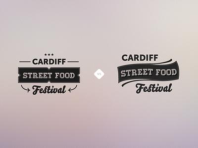 Cardiff Street Food Festival food festival logo hipster trendy branding cardiff bello-pro