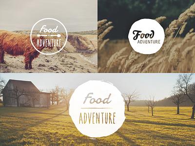 Food Adventuring brand design wales uk food haum adventure round handmade