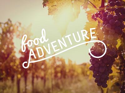 Flowing Adventures food logo branding adventure haum wales uk script