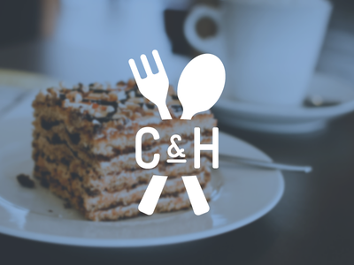 Catering & Hospitality brand logo cardiff haum wales branding food fork spoon