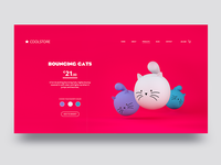 Bouncing Cats UI