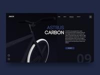 Astrus Carbon. UI Concept