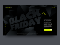 Black Friday UI Design Concept