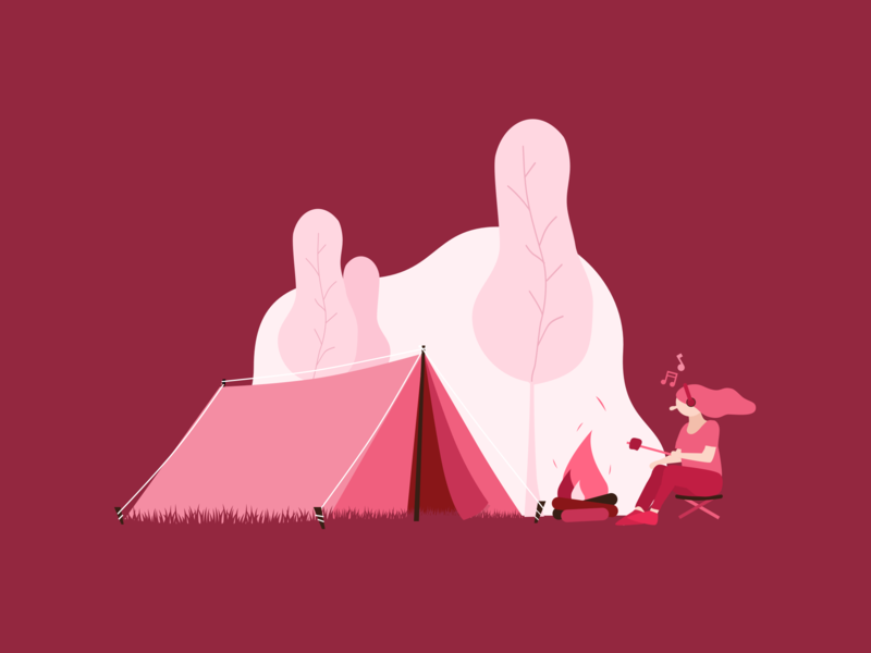 Many Ways To Chill - #2 vector ux ui illustration flat design