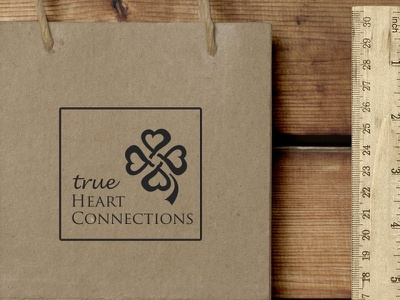 THC Brand Creation and Presentation logo heart brand connection