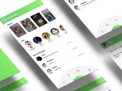 Whatsapp Status Page Redesign