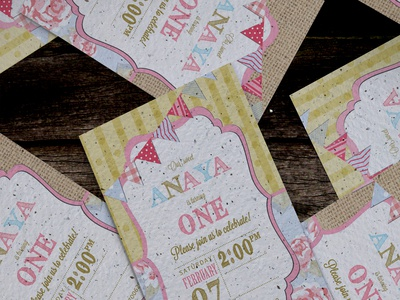 Birthday branding for One year old
