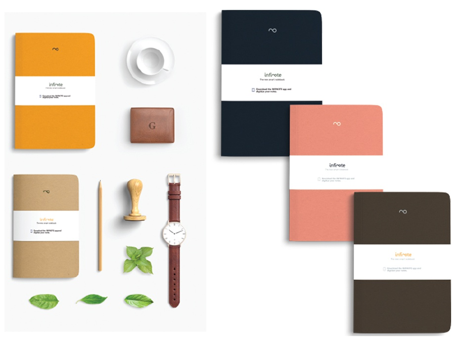 Branding for Infinote - The Smart Notebook | Search by Muzli