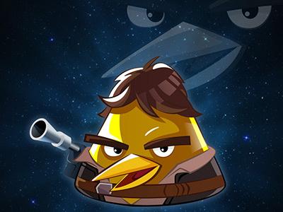 Han Solo han solo star wars angry birds
