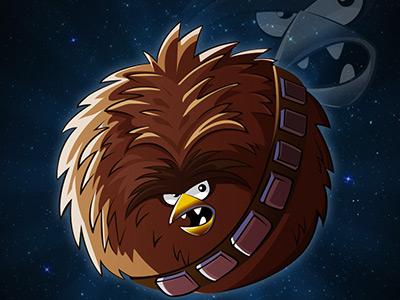 Chewbacca chewbacca star wars angry birds