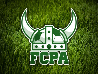 FCPA logo soccer warrior viking football