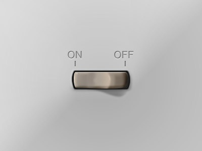 Plastic Switch switch on off ui