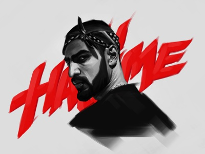 Miyagi ⛩ russia singer black boy draw man reggae hiphop rap hajime miyagi illustration