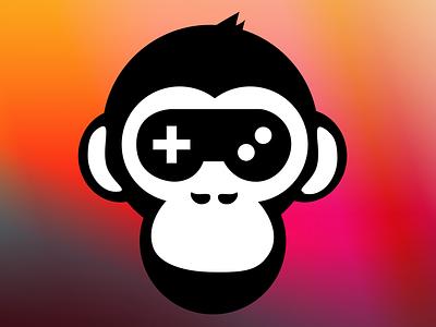 Honkbark Studios Logo honkbark studios logo kipunji monkey