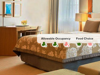Allowable Occupancy and food choice in Hotel