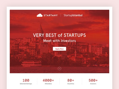 Startany - Startup Istanbul Application Page