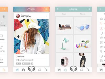 Mine - Mobile App