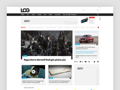 LOG Magazine - Homepage
