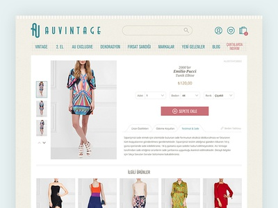 AUVINTAGE - Product Detail Page