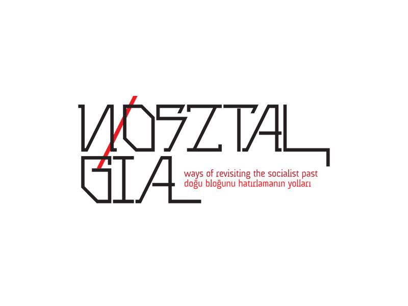 Nosztalgia - Logo exhibition branding logo