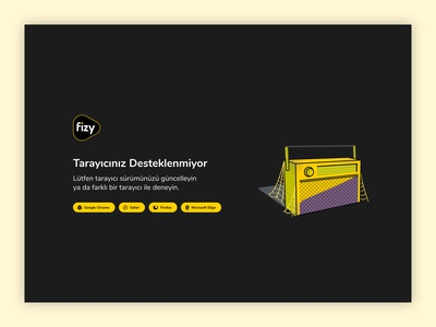 fizy Web - Error Pages