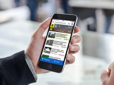 sahibinden.com Mobile Preview Listing Search