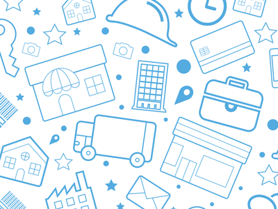 Icon Set for Real Estate