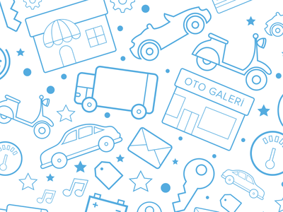 Icon Set for Vehicles