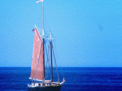 Sailing Ship (anchored)