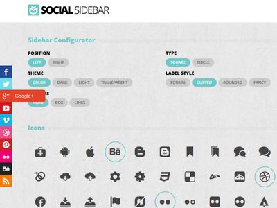 Social Sidebar
