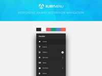 RubyMenu Responsive jQuery Accordion Navigation