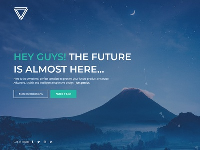 Elysium - Responsive Coming Soon Template image video slideshow mailchimp subscribe newsletter contact php ajax template flashblue bootstrap