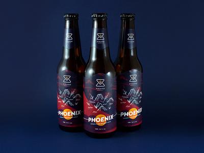 Pyramid Brewing - Phoenix beer branding packaging