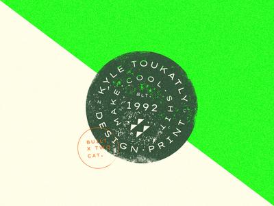 2+cat+ly Design - Brand Badge