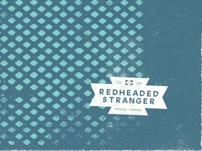 Redheaded Stranger marks designs illustration texture nashville restaurant tacos