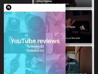 Newsletter Design for Mobvoi - YouTube Product Reviews