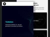 Newsletter Design for Mobvoi - TicMotion Tutorial