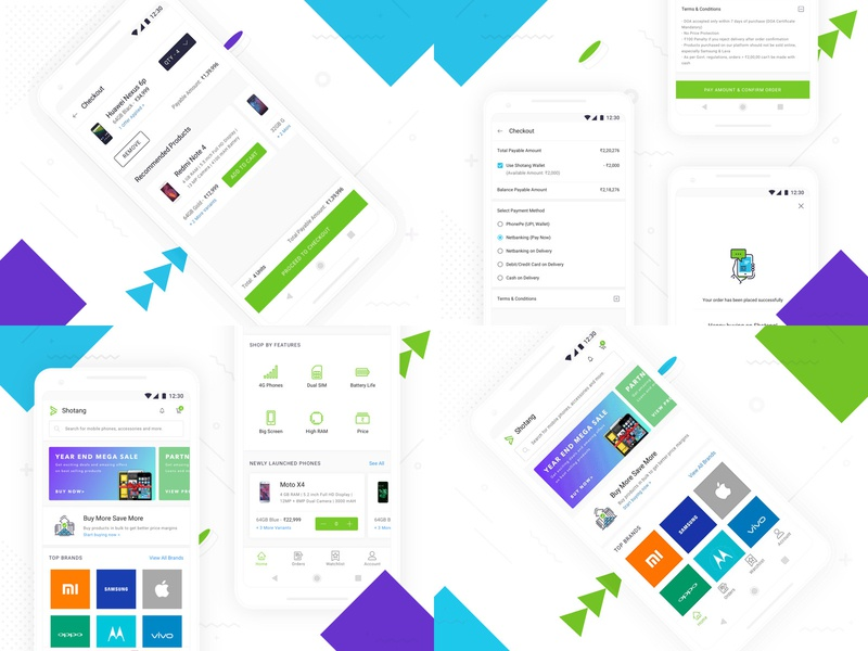 Best of 2018 animation type dribbble sketch product e-commerce green typography flat mobile illustration clean android app ux blue ui design